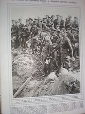Photo article General Sir Hubert Plumer and officers 1917 WW1