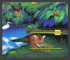 UN / New York office - 1998 50 years WHO; Tiger Mi. Bl. 15 MNH