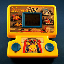 RADIO SHACK SONIC SPEEDWAY TABLETOP TANDY ELECTRONIC HANDHELD GAME VINTAGE TOY