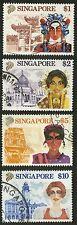 Singapore   1990   Scott # 580-583    USED Set