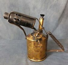 Great old Brass Blow Lamp.