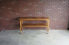 Sofa Table ~ Hall Table ~ Old World Treasures Console Table by Ethan Allen