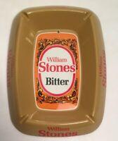 Vintage William Stones Bitter pub melamine ashtray Pub Beer Larger