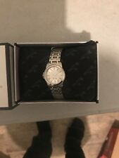 Bulova Ladies Classic Silver Dial Watch 96L151 Quartz Stainless Steel