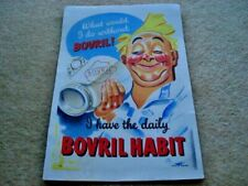 More details for 1930s what would i do without bovril! i have the daily bovril habit adv showcard