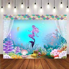 Birthday Yard Letters Mermaid Yard Decoration with Faux Glitter 12363