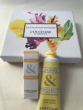 L'OCCITANE Jasmine & Bergamot 7.5ml EDT & 30ml Hand Cream,Jasmin Bergamote