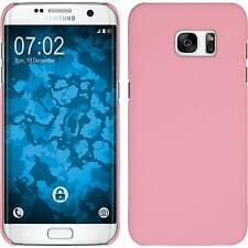 Hardcase Samsung Galaxy S7 Edge rubberized pink Cover Case