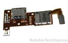 OEM SIM SD Card Holder Reader Board Flex LG Rebel L44VL TracFone Parts #192