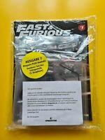 Fast & Furious Bauen Sie den legendären Doge Charger R/T 1:8  Bauteil 7  Neu/OVP