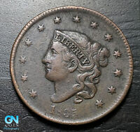 1835 N9 DOUBLED PROFILE Coronet Head Large Cent   --  MAKE US AN OFFER!  #K3562