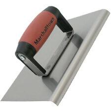 "Marshalltown M120D Cement Edger 8"" x 6"" Durasoft Handle"