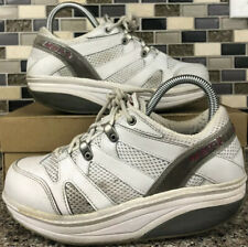 MBT Sport 041 Shoes Womens White Leather Athletic Walking Toning Casual Size 5.5