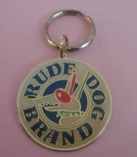 Rude Dog Brand (CBS Cartoon & Advertisement for Sun Sportswear) New Key Chain