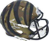Autographed Joe Burrow Bengals Mini Helmet Fanatics Authentic COA Item#10921151