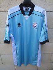 VINTAGE Maillot S.M CAEN Errea away extérieur bleu sans sponsor shirt trikot XL
