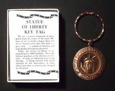 1986 Statue of Liberty 100th Anniversary Commemorative Key Tag! Mint Condition!