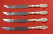 Valenciennes by Manchester Sterling Silver Steak Knife Set Texas Sized Custom