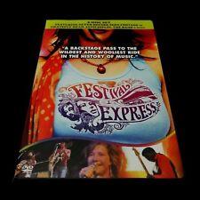 Festival Express DVD 1970 Canada Train Grateful Dead Janis Joplin The Band 2-DVD