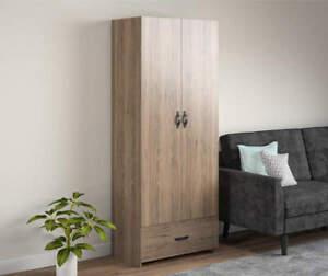 Ameriwood Salinas Rustic Oak Storage Cabinet