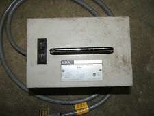 XEROX 220V to 110 V Power Converter D76A with 20A Circuit Breaker