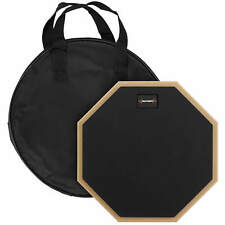 More details for 10 inch drum practice pad by world rhythm – single sided silent drum pad