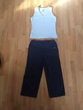 Ladies Blue Adidas & Nike Vest And Leggings Outfit - Sizes 10 & Small *FREE P&P*