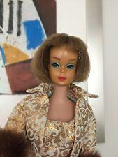 vintage Barbie American Girl - Nutmeg Cinnamon - long hair-high color- 1965 HTF
