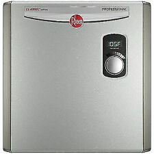 Rheem RTEX-24 208/240Vac, Commercial/Residential Electric Tankless Water Heater