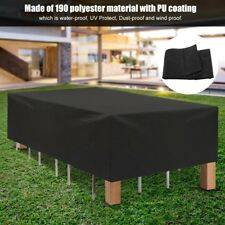 Waterproof Dust-proof Furniture Table Cover Protection Garden Patio Outdoor