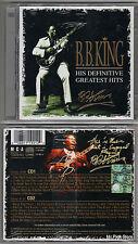 B.B. KING His Definitive Greatest Hits  ( 2CD - 1999 ) Sigillato Sealed New