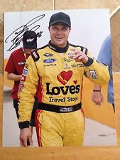 David Gilliand Signed 8x10  Photo NASCAR autograph COA