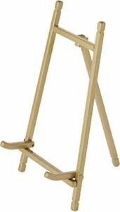 """Bard's Satin Gold-Toned Metal Easel 7.25"""" H x 4"""" W x 4.5"""" D Pack of 3"""