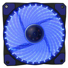 Game Max GaleForce 32 x Blue LED 120mm Fan PC 12CM Case Fan High Performance