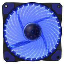 GIOCO Max GaleForce 32 X LED BLU VENTOLA 120MM 12CM PC CASE FAN High Performance