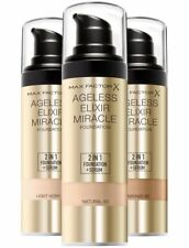 Max Factor Ageless Elixir Miracle 2 in 1 Foundation + Serum Choose Your Shade
