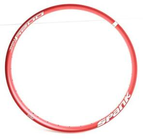 Spank Oozy Trail 395+ Plus 27.5+ 32h Hole MTB Bike Rim RED New