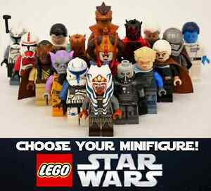 Genuine LEGO Star Wars - Choose your Minifigures! Rare, new and used available