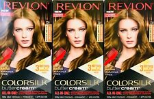3 Boxes Revlon Colorsilk Butter Cream 731 Dark Beige Blonde All In One Hair Dye