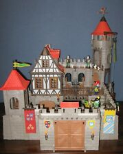 PLAYMOBIL VINTAGE 3666 KING'S CASTLE KNIGHTS-BOX-INSTRUCTIONS-COMPLETE-EXCELLENT