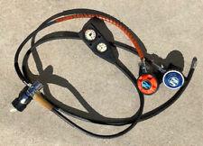 Sherwood Scuba Oasis regulator, octopus, Suunto SM-14 gauge set and carrying bag
