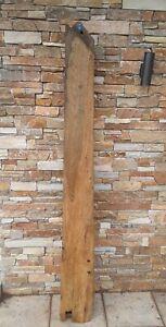 Eichenbalken , Fachwerkbalken Hitzebehandelt Holzbalken  1,995m Nr.6  32,6kg