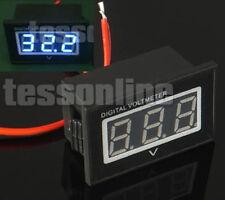 Wasserdicht Digital Voltmeter Spannungsanzeige Voltmeter 15-120V Elektro Auto