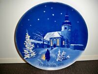 COLLECTORS PLATE DRESDEN GERMANY CHRISTMAS 1976  7 5/8''