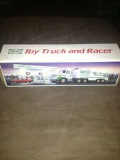 1988 HESS TOY TRUCK AND RACER BRAND NEW IN BOX MINT