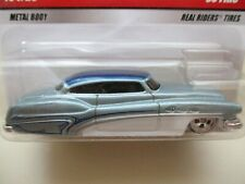 HOT WHEELS - LARRY'S GARAGE - SO FINE BUICK CUSTOM - REAL RIDERS - DIECAST