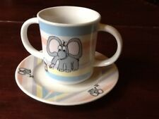 VINERS ELEPHANT CUP AND PLATE