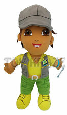 "GO DIEGO GO SAFARI RESCUE PLUSH DOLL! GRAY SOFT BOYS DORA THE EXPLORER 12"" NWT"