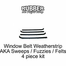 1995 1996 Chevy / GMC Van Belt Weatherstrip / Sweeper Kit