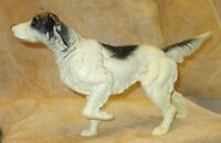 "ANTIQUE CAST IRON 15"" LONG DOOR STOP HUNTING SETTER POINTER DOG"